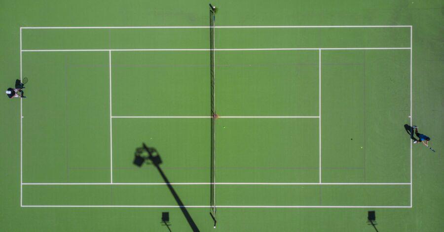 Padel tennis bane